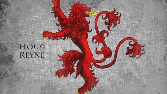 Ice and fire tv series house reyne wallpaper