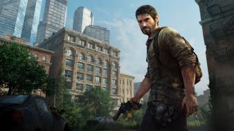 Joel the last of us demo video games wallpaper