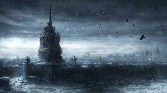Jonasdero moscow russia cold ice wallpaper