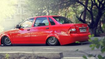 Lada priora auto cars Wallpaper
