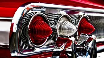 Light chevrolet impala tri taillights wallpaper