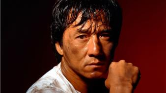 Men chinese jackie chan actors faces wallpaper