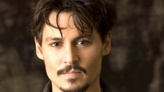 Men johnny depp actors faces wallpaper