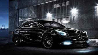 Mercedes-benz cars night wallpaper