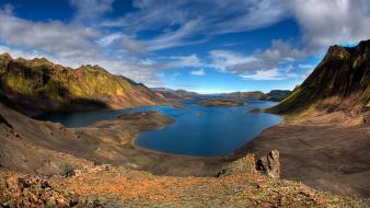 Mountains landscapes nature iceland lakes wallpaper