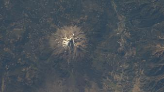 Mountains nasa california international space station mount shasta wallpaper