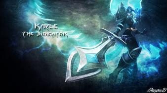 Of legends armor kayle warriors judgement swords wallpaper