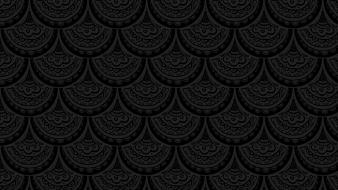 Patterns grayscale scales wallpaper