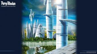 Perry rhodan science fiction magazine covers widescreen wallpaper