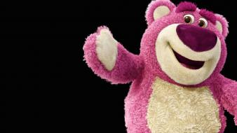 Pink bears toys wallpaper