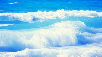 Sea waves background wallpaper