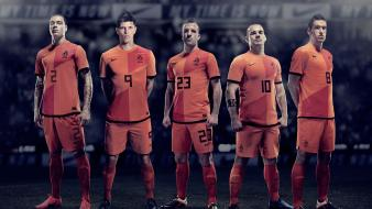 Soccer holland football teams wesley sneijder strootman wallpaper