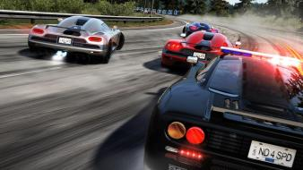Speed race track hot pursuit drift chase wallpaper