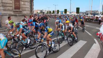 Sports cycling races cycles wallpaper