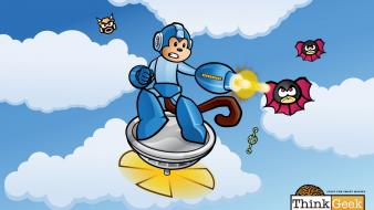 Video games monkeys thinkgeek megaman Wallpaper