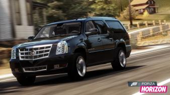 Video games xbox 360 cadillac escalade forza horizon wallpaper