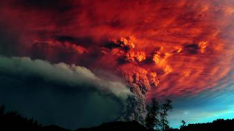 Volcano eruption pictures wallpaper