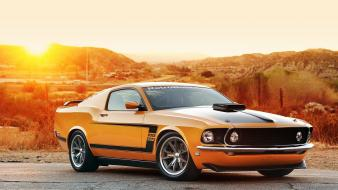 1969 vehicles mustang car front angle view wallpaper