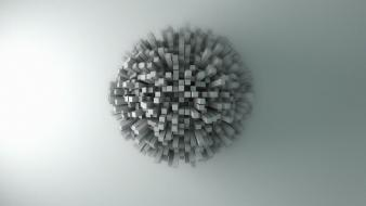 Abstract retro 3d cinema 4d noise wallpaper