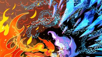 Adventure time ice queen flame princess Wallpaper