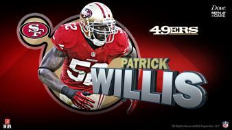 American football nfl san francisco patrick sports wallpaper