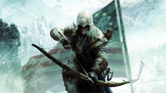 Assassins creed 3 connor kenway ratohnhakéton archery wallpaper