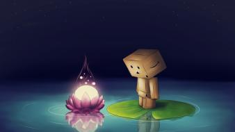 Beautiful danbo background wallpaper