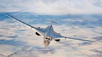 Bomber russian air force jets tu-160 blackjack wallpaper