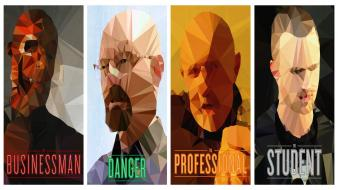Breaking bad low poly Wallpaper