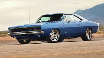 Cars dodge charger muscle car Wallpaper