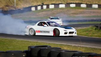 Cars tuning drift mazda rx7 wallpaper