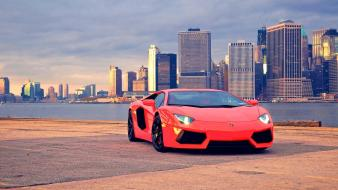 Cityscapes cars lamborghini wallpaper