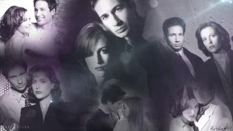 Dana scully fox mulder gillian anderson tv series wallpaper