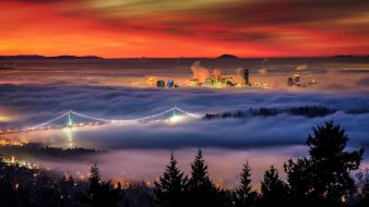 Dawn canada vancouver british columbia wallpaper