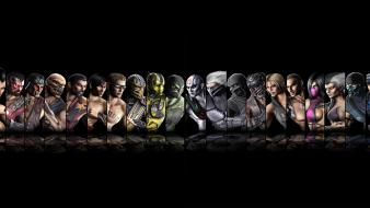 Dual screen mortal kombat Wallpaper