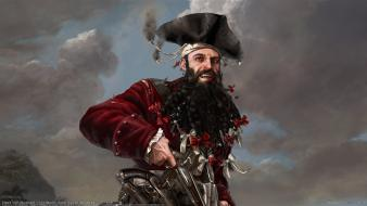 Fantasy art blackbeard Wallpaper