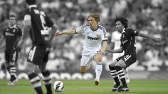 Football stars luka modric real madrid cf wallpaper