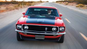 Ford mustang boss 302 front view car wallpaper