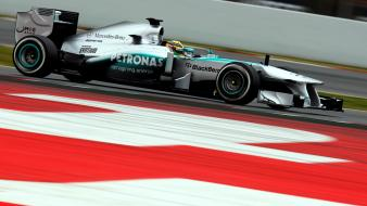 Formula one mercedes-benz auto cars racing Wallpaper
