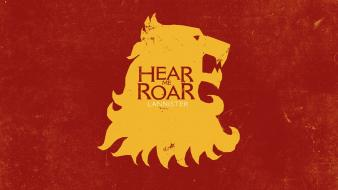 Game of thrones tv series house lannister wallpaper