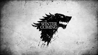 Game of thrones tv series house stark wallpaper