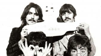 Harrison yellow submarine ringo starr paul mccartney Wallpaper