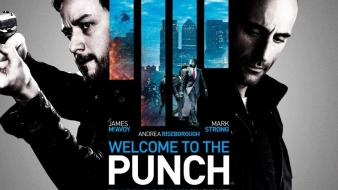 James mcavoy mark strong welcome to the punch wallpaper