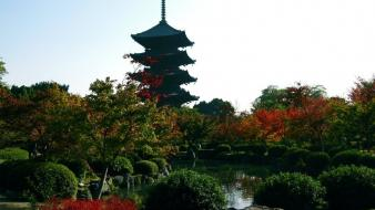 Japan kyoto parks wallpaper