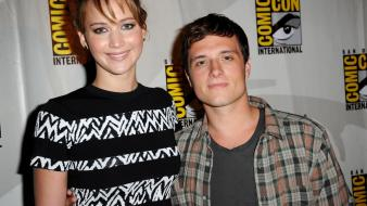 Jennifer lawrence josh hutcherson wallpaper