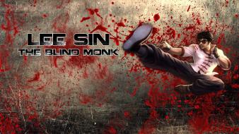 League of legends lee sin wallpaper