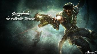 League of legends special forces gangplank wallpaper