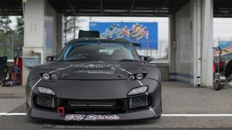Mazda black cars drift maximum wallpaper