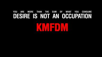 Minimalistic text quotes simple background black kmfdm wallpaper