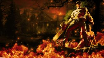Movies evil dead army of darkness ash wallpaper